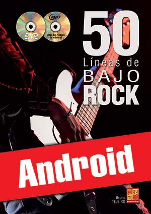 50 líneas de bajo rock (Android)