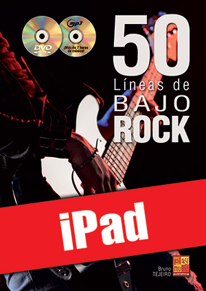50 líneas de bajo rock (iPad)