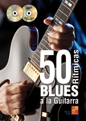 50 rítmicas blues a la guitarra