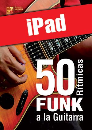 50 rítmicas funk a la guitarra (iPad)