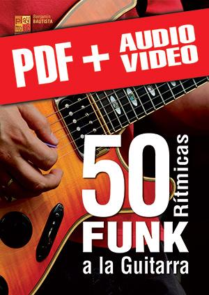 50 rítmicas funk a la guitarra (pdf + mp3 + vídeos)
