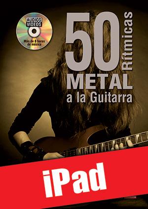 50 rítmicas metal a la guitarra (iPad)