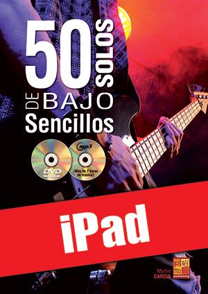 50 solos de bajo sencillos (iPad)