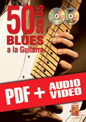 50 solos blues a la guitarra (pdf + mp3 + vídeos)