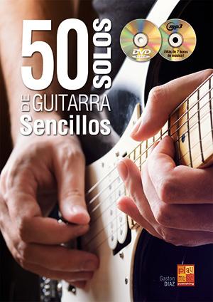 50 solos de guitarra sencillos