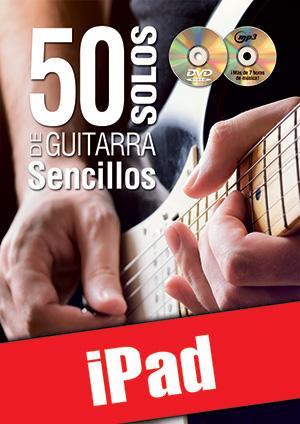 50 solos de guitarra sencillos (iPad)