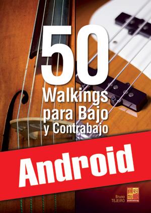 50 walkings para bajo y contrabajo (Android)