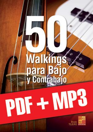50 walkings para bajo y contrabajo (pdf + mp3)