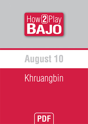 August 10 - Khruangbin