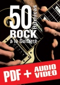 50 rítmicas rock a la guitarra (pdf + mp3 + vídeos)
