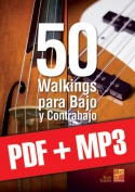 50 walkings para bajo y contrabajo (pdf + mp3)