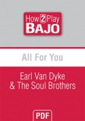 All For You - Earl Van Dyke & The Soul Brothers