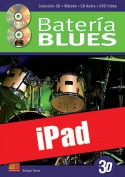 La batería blues en 3D (iPad)