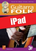 La guitarra folk en 3D (iPad)