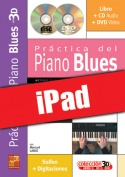Práctica del piano blues en 3D (iPad)