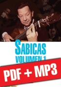 Sabicas Volumen 1 - Estudio de estilo (pdf + mp3)