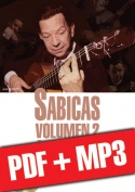 Sabicas Volumen 2 - Estudio de estilo (pdf + mp3)