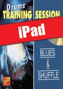 Drums Training Session - Blues & shuffle (iPad)