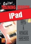 Guitar Training Session - Riffs & rítmicas hard-rock (iPad)