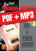 Guitar Training Session - Riffs & rítmicas hard-rock (pdf + mp3)