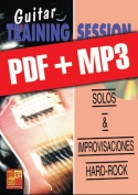Guitar Training Session - Solos & improvisaciones hard-rock (pdf + mp3)