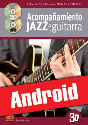 Acompañamiento jazz a la guitarra en 3D (Android)