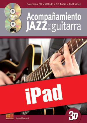 Acompañamiento jazz a la guitarra en 3D (iPad)