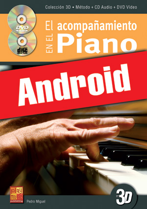 El acompañamiento en el piano en 3D (Android)