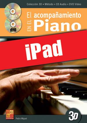 El acompañamiento en el piano en 3D (iPad)
