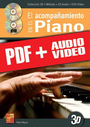 El acompañamiento en el piano en 3D (pdf + mp3 + vídeos)