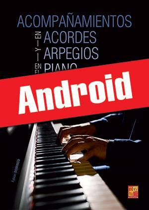 Acompañamientos en acordes y arpegios en el piano (Android)