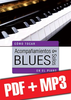 Acompañamientos y solos blues en el piano (pdf + mp3)