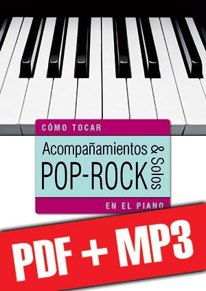 Acompañamientos y solos pop-rock en el piano (pdf + mp3)