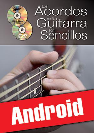 Los acordes en la guitarra son sencillos... con el sistema CAGED (Android)
