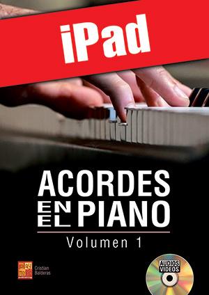 Acordes en el piano - Volumen 1 (iPad)