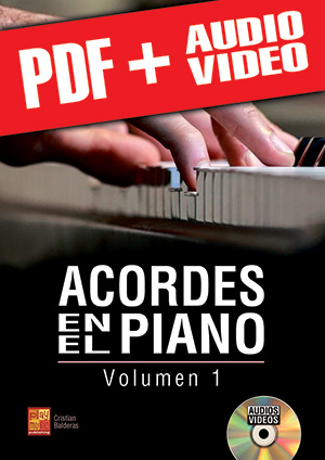 Acordes en el piano - Volumen 1 (pdf + mp3 + vídeos)