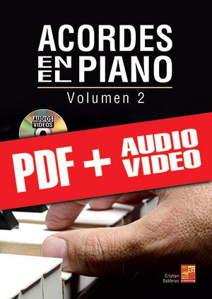 Acordes en el piano - Volumen 2 (pdf + mp3 + vídeos)