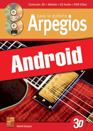 Arpegios para la guitarra en 3D (Android)