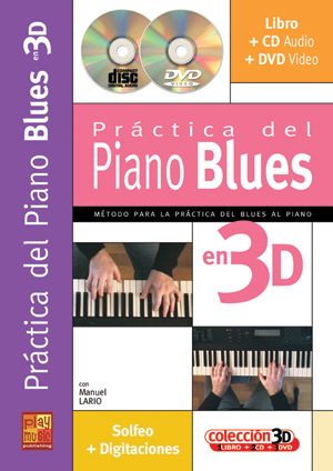 Práctica del piano blues en 3D