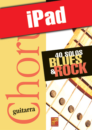 Chorus Guitarra - 40 solos blues & rock (iPad)