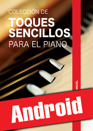 Colección de toques sencillos para el piano (Android)