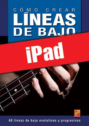 Cómo crear líneas de bajo (iPad)