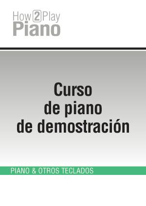 Curso de piano de demostración