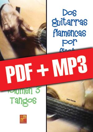 Dos guitarras flamencas por fiesta - Tangos (pdf + mp3)