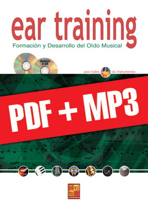 Ear training - Todos instrumentos (pdf + mp3)