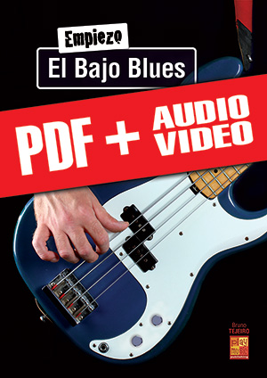 Empiezo el bajo blues (pdf + mp3 + vídeos)