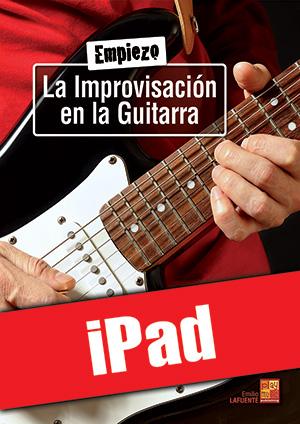 Empiezo la improvisación en la guitarra (iPad)