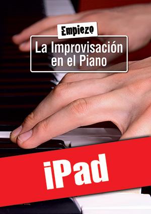 Empiezo la improvisación en el piano (iPad)