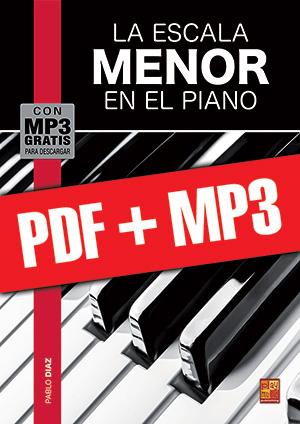 La escala menor en el piano (pdf + mp3)
