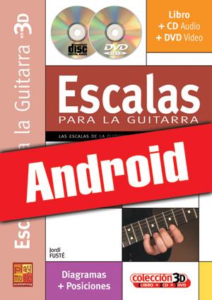 Escalas para la guitarra en 3D (Android)